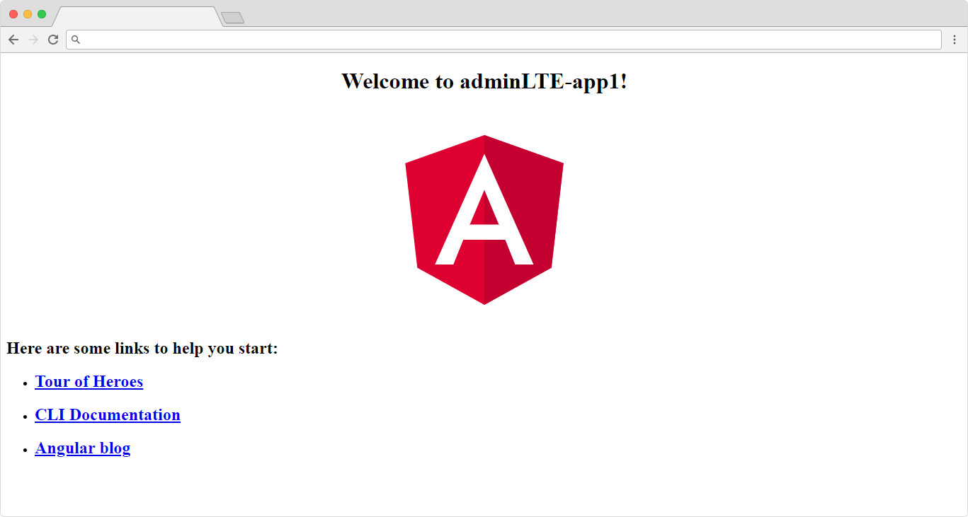 How to Integrate AdminLTE theme to Angular Project